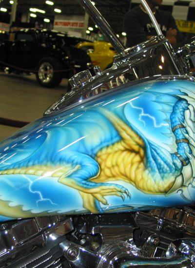 98. Dragon paint